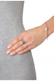 Armspange 'Herz' silber