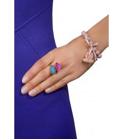 Armband 'Budda' rosa