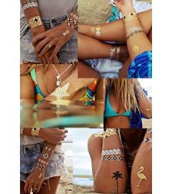 Flash Tattoos 'Gold Fish H2O'