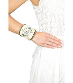 Armband 'Joy' beige pastell