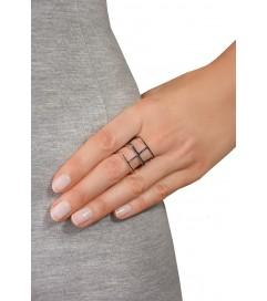 Ring 'H' silber