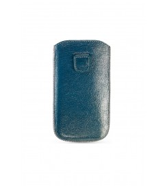 Handyhülle 'Soft Glamour Sleeve Baby Blue' iPhone 4/5
