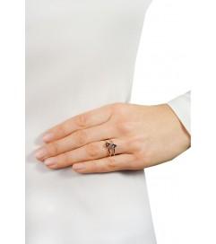 Ring 'Fatima Hand' vergoldet
