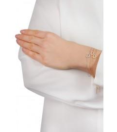Kurshuni Armband 'Herz' vergoldet