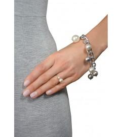Litalu Armband 'King' Silber
