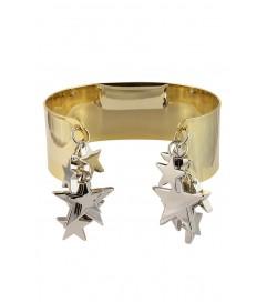 Armreif mit Sternchen gold