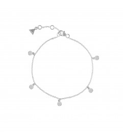 Armband 'Lovely Discs' Silber