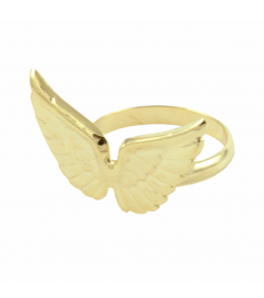 Ring 'Wings' vergoldet