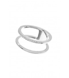 Leaf Ring 'Double' Silber
