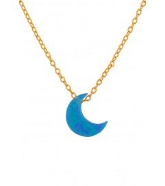 Halskette 'Blue Moon' rosé vergoldet