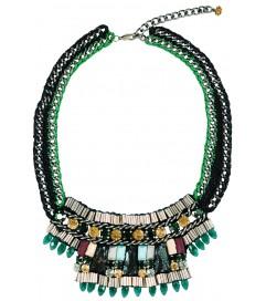 Halskette 'Poly' emerald