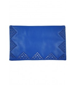 Clutch Tasche 'Couvert' blau