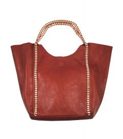 Handtasche 'My Shopper' bordeaux
