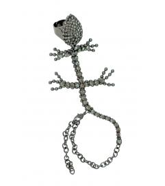 Handpiece 'Tanzanite Lizard' titan-grau