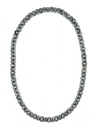 Halskette lang anthrazit