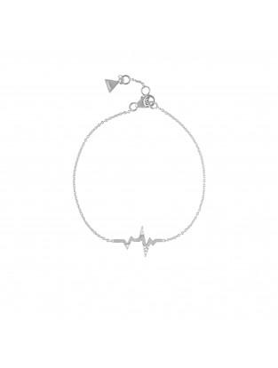 Armband 'Heartbeat' mit Zirkonia Silber