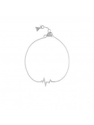 Armband 'Heartbeat' Silber