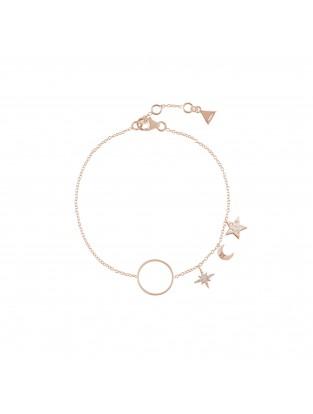 Armband 'Midnight' Silber rosé vergoldet