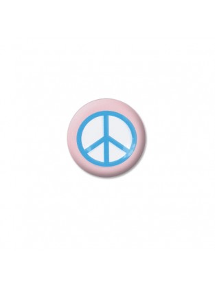 Brillen Aufkleber 'Inner Circle Peace' rose blue