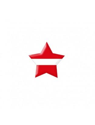 Brillen Aufkleber 'Star Flag' Österreich