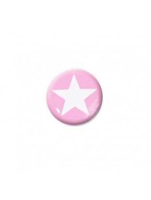 Brillen Aufkleber 'Inner Circle Star' rose