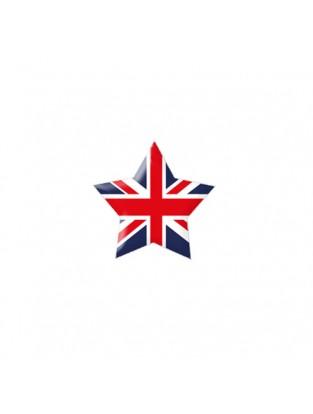 Brillen Aufkleber 'Star Flag' England