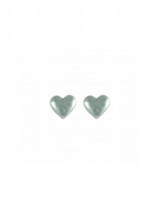 Ohrstecker 'Herz' Silber