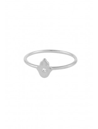Ring 'Fatima Hand' Silber