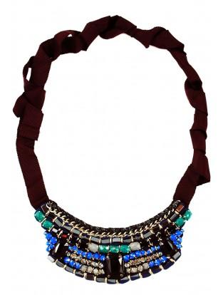 Halskette 'Kleine' navy
