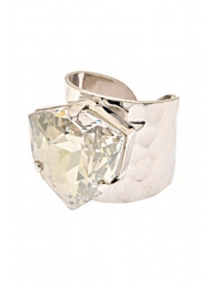 Stilomio Ring 'Joy' kristall