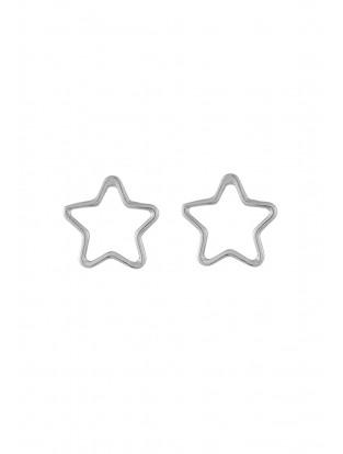 Ohrstecker 'Mein Stern' silber