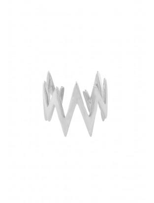 Ring 'Up & Down' verstellbar Silber
