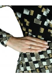 Leaf Ring 'Herz' silber
