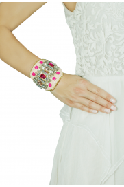 Armband 'Joy' beige pink