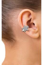 Kurshuni Ear Cuff mit Stern silber