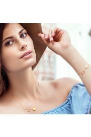 Armband 'Moon and Star' Silber rosé vergoldet