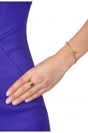 Armspange 'Stern' vergoldet