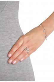 Kurshuni Armband 'Amulett' silber