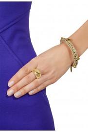 Cocktail Ring 'Simple Gold' vergoldet