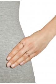 Leaf Ring 'LOVE' rosé vergoldet