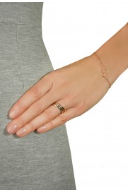 Leaf Ring Basic silber