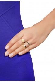 Double Ring vergoldet