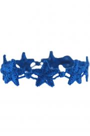 Armband 'Stern' cobalt blau