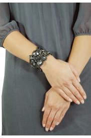 Glamour-Armband 'Dodona' anthrazit