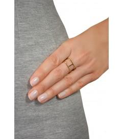 Ring 'H' gold