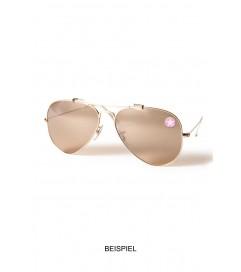 Brillen Aufkleber 'Inner Circle Star' pink