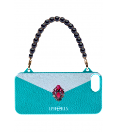 Iphoria Handyhülle 'Fancy Clutch' mint iPhone 5