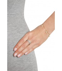 Kurshuni Armband 'Amulett' vergoldet