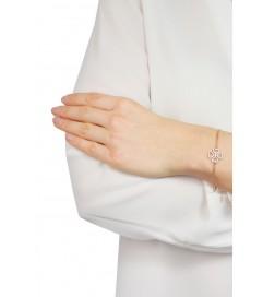 Kurshuni Armband 'Lucky Kleeblatt' Silber
