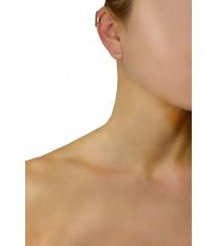Ear Cuff 'My NY' Silber